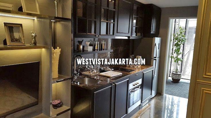 Show unit apartemen West Vista Keppel Land - Kitchen Set #showunitwestvista #apartemenkeppelland