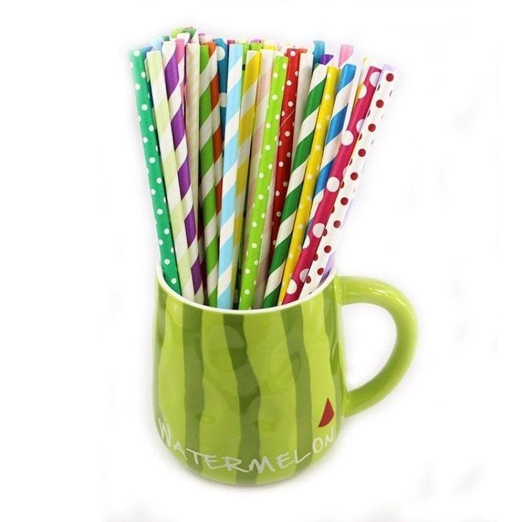 25pcs/bag Biodegradable Color stripe Paper straw (Multicolor) - intl<BR><BR><BR>shop-special-dinnerware<BR><BR>http://www.9mserv.com/detail.php?pid=1455922&cat=shop-special-dinnerware
