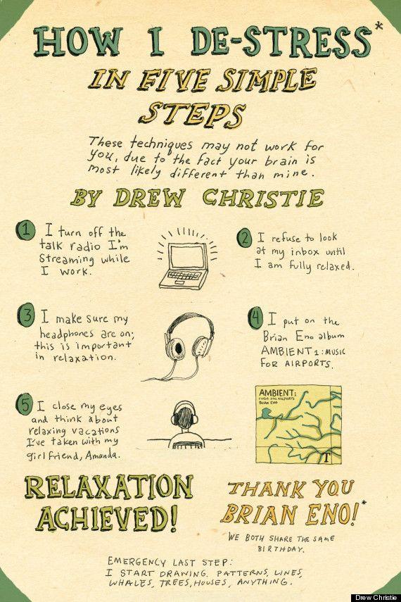 5 EASY WAYS TO DE-STRESS