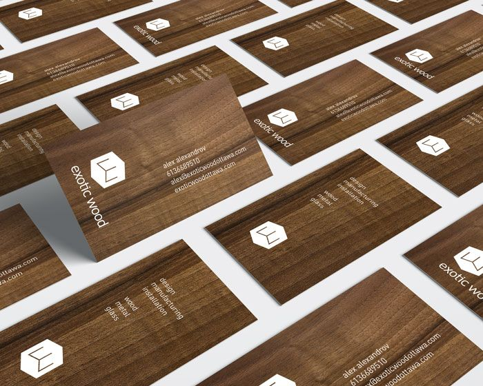 154 best branding logo design graphic design work by ottawa wooden business cards for exotic wood ottawa idapostle reheart Choice Image