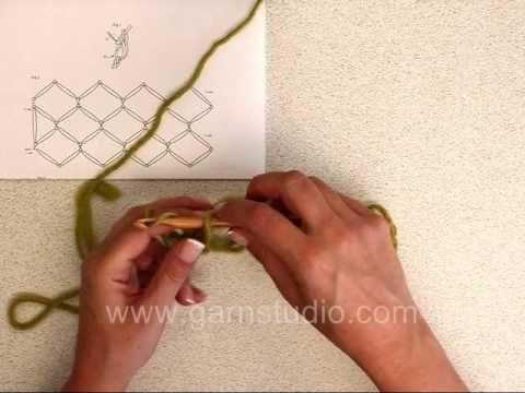 Crochet : point de salomon - le blog du fil