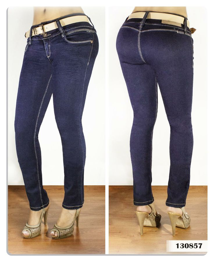 Jeans para mujer color azul oscuro bota tubo-Sexy, yet Casual #Fashion #sexy #woman #womens #fashion #neutral #casual #female #females #girl #girls #hot  #hotlooks #great #style #styles #hair #clothing  www.ushuaiajean.com.co
