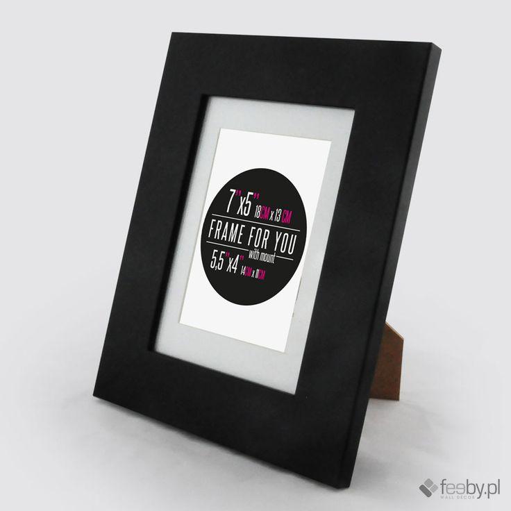 Czarna Livia - drewniane ramy do obrazów, plakatów, zdjęć