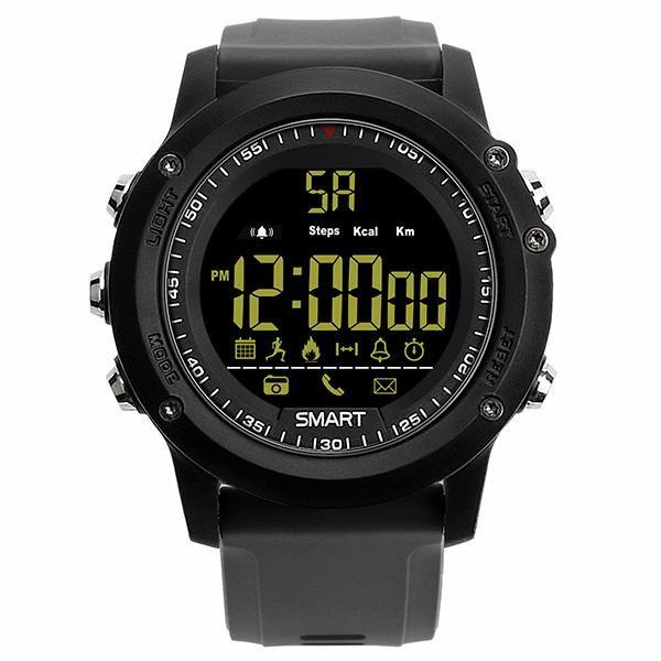KALOADEX175ATMImpermeable365días en espera Bluetooth podómetro Control remoto Cámara Reloj deportivo inteligente