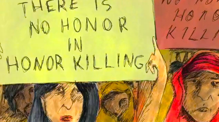 People can believe that something is immoral, but still feel as if they are honor-bound to do it. There is no honor in honor killing.