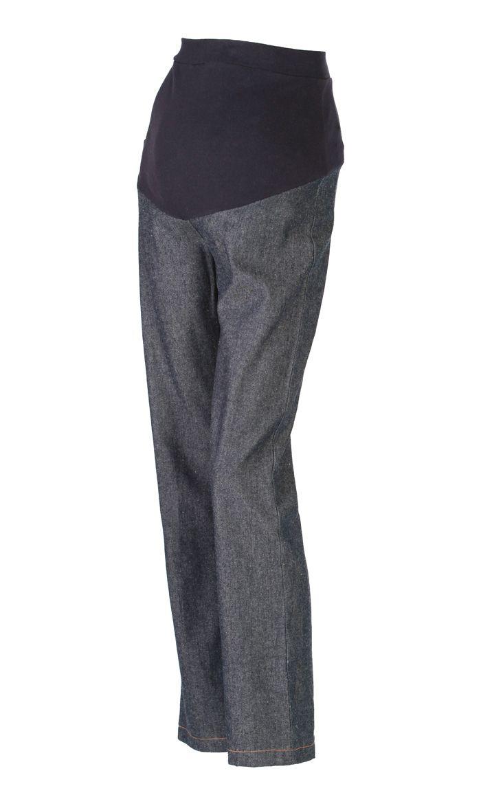 Elegant Cotton Denim maternity pants - Price: $29.99 Sku ID : PTWM3
