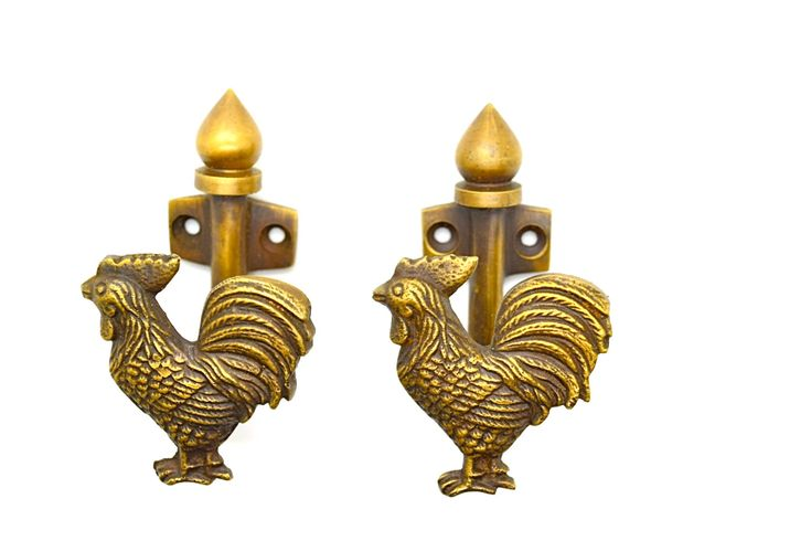 chicken coat hook. Bathroom kitchen hooks. wall door hooks, .Animal brass hooks. Vintage hooks. Wife girlfriend gifts.Valentines gift by Thefoundryman on Etsy https://www.etsy.com/listing/266723547/chicken-coat-hook-bathroom-kitchen-hooks
