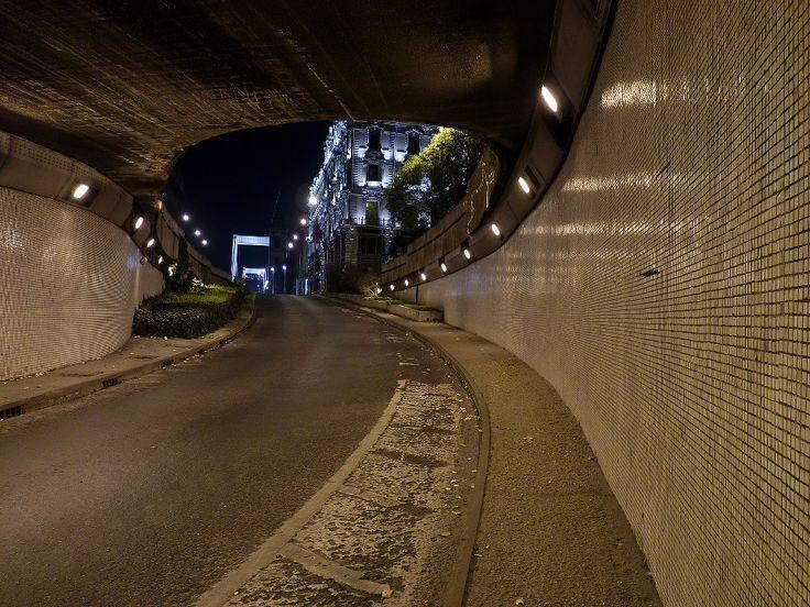 Az Erzsébet híd aluljáró