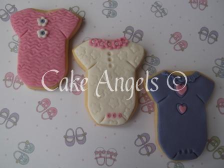 Baby Onesie Girl Cookies