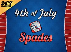 4th of july spades games