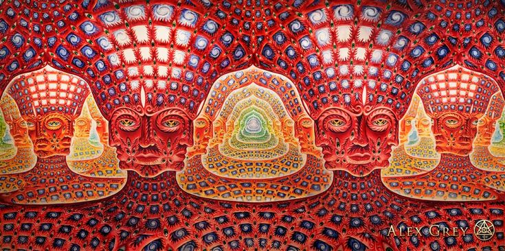 Net of Being by Alex Grey