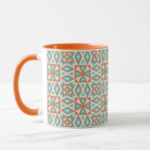 Turquoise Blue Orange Beige Eclectic Ethnic Look. #modern #pattern #native #native+american #nativeamericanindian #nativeindian #santafe #newmexico #cool #abstract #geometric #aztec #aztecpattern #kilim #kilimpattern #navajo #navajostyle #cherokee #cherokeestyle #tribe #tribepattern #tribal #tribalpattern #mosaic #mosaicstyle #motif #southwest #southweststyle #southwestern #southwesternstyle #westernstyle #cowboystyle #stylish #trendy #trending #boho #bohostyle #bohemian #bohemianstyle