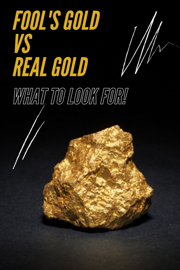 How to separate fools gold from real gold and not get