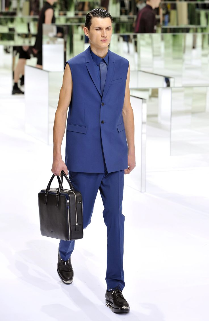 Dior Homme Summer 2014 – Look 24. Discover more on www.dior.com