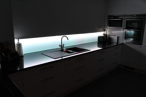 Cut to Size Splashback - Acrylic (Perspex) Clear