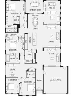 Duplex With Double Garage Designs. Duplex. Home Plan And House ...