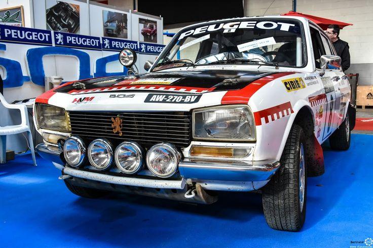 #Peugeot #504 au salon de Reims. Reportage complet : http://newsdanciennes.com/2016/03/13/grand-format-les-belles-champenoises-depoque-2016/ #ClassicCar #Vintage #Car #Voiture #Ancienne