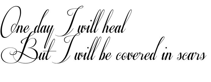 Time Heals Everything Tattoo Will Heal All Woundsjpg