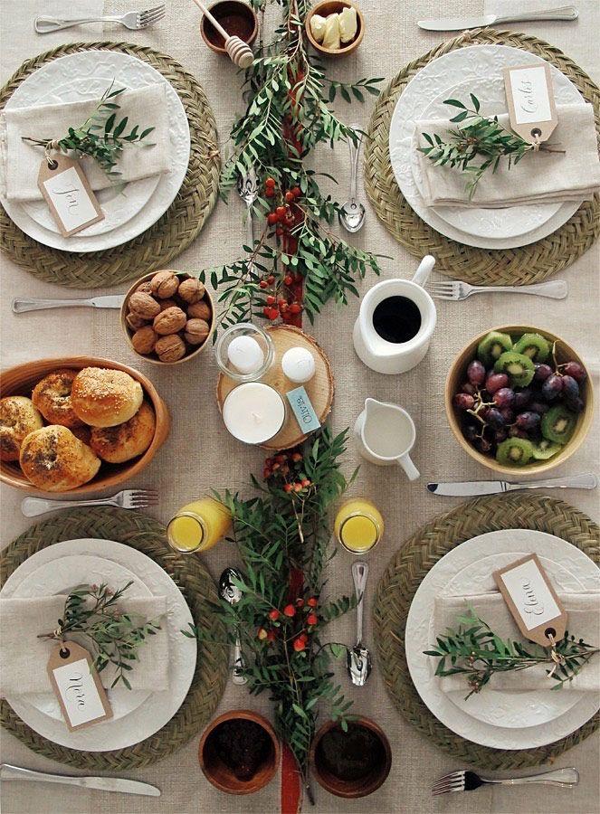 347 mejores ideas sobre a poner la mesa en pinterest - Como adornar una mesa para navidad ...