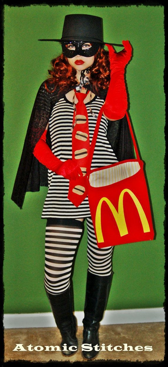Womens Hamburglar Costume