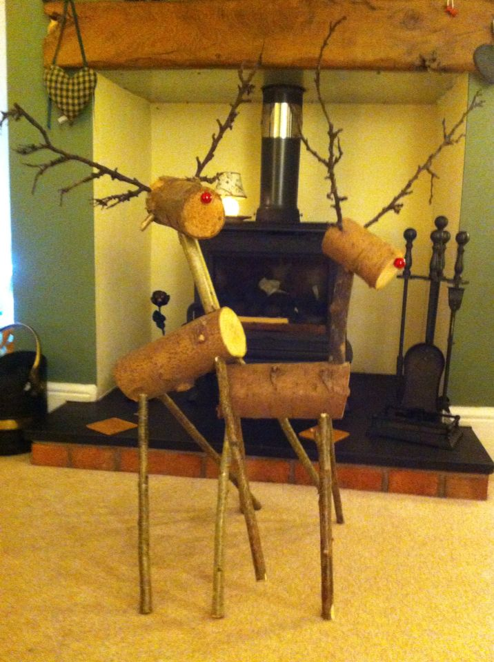 Made two Deer for my old folks