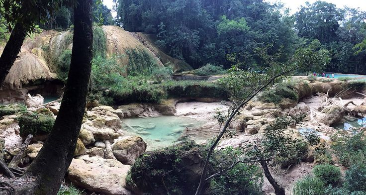 FOTOS Los misterios de la sequía de las cascadas de Agua Azul - La Razon