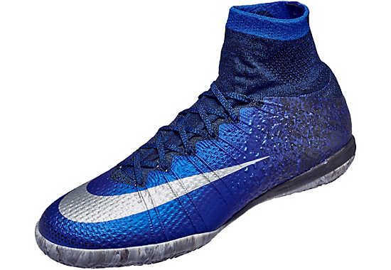 Available at SoccerPro. The Nike CR7 MercurialX Proximo Indoor Soccer Shoe! Get it today.