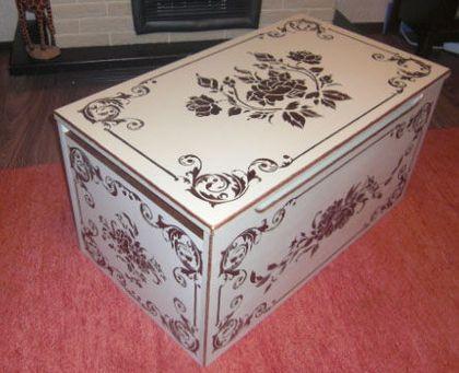 """Мебель ручной работы. Ярмарка Мастеров - ручная работа. Купить Ящик для белья, одеял и подушек """"Sweet Dream"""". Handmade. Сундук"""