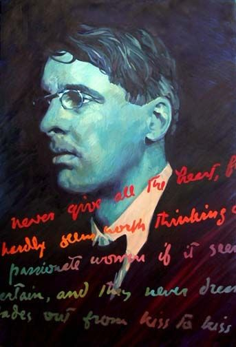 W. B. Yeats by Barrie Maguire on ArtClick.ie