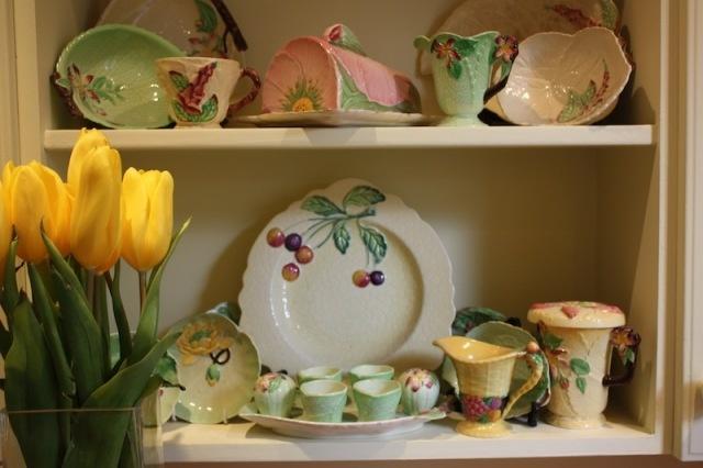 An enviable collection of Carlton Ware.