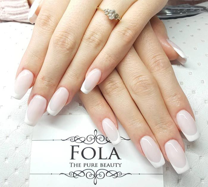 17 Best Ideas About Color French Manicure On Pinterest