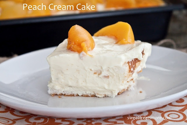 Angel Food Cake Mix And Canned Peaches