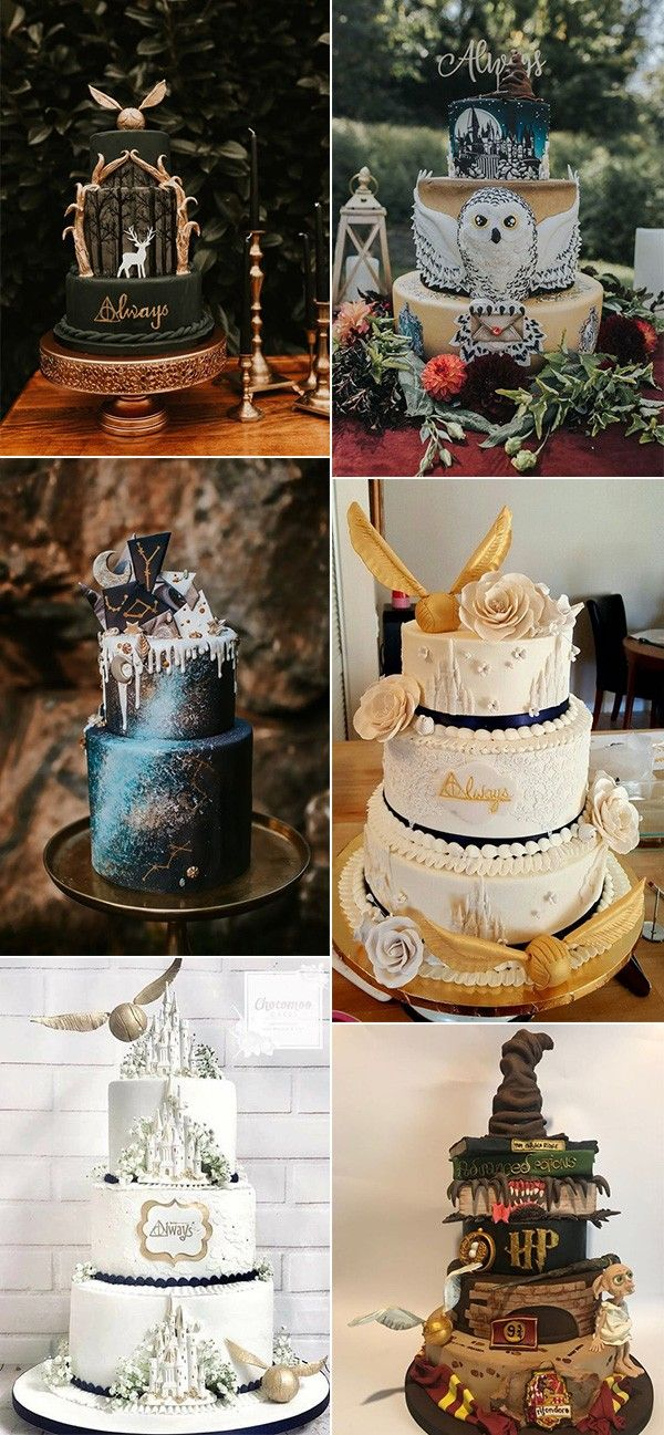 Trending 23 Magical Harry Potter Wedding Ideas To Try Emmalovesweddings Harry Potter Wedding Harry Potter Wedding Cakes Harry Potter Wedding Theme