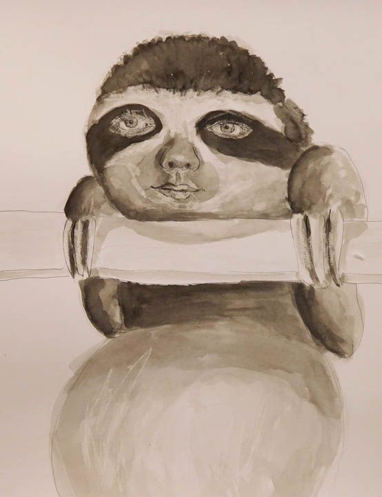 Me as sloth