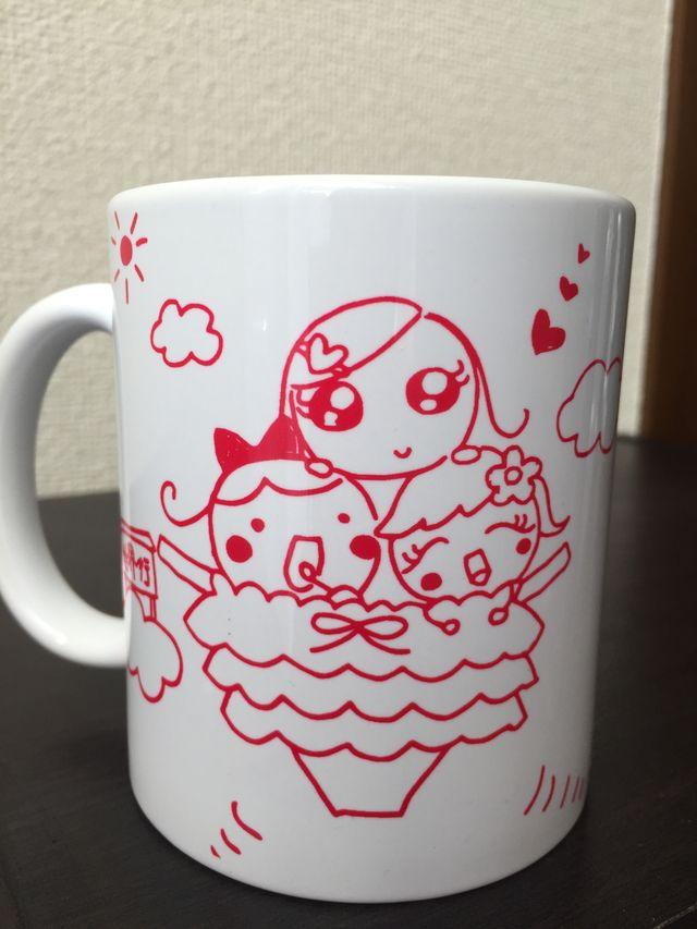 アトリエあっぷる♡ぱいオリジナルイラスト入り マグカップ
