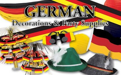 German Decorations & Party Supplies