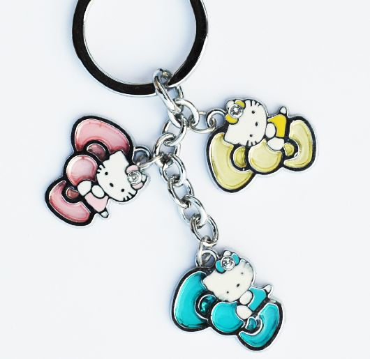 17 Best Images About Hello Kitty Key Chains On Pinterest