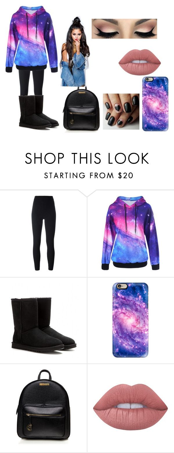 """""""Galaxy 2"""" by lexibella44 ❤ liked on Polyvore featuring adidas Originals, UGG Australia, Casetify and Lime Crime"""