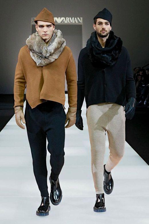 Emporio Armani Fall-Winter 2015/2016 menswear collection