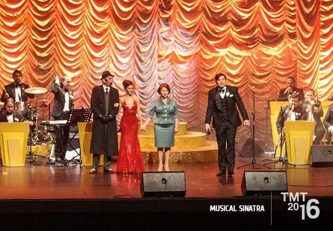 Musical Sinatra, Teatro Municipal Temuco 2016
