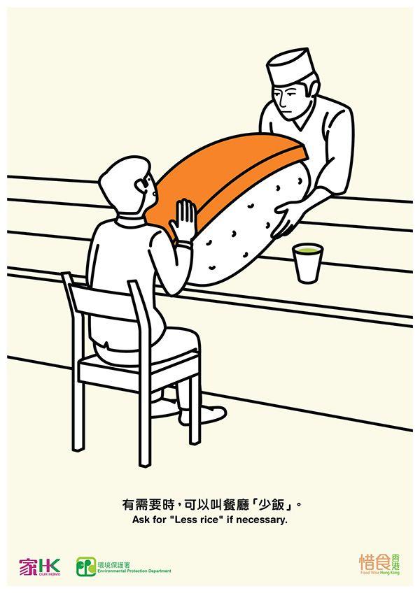 Food Wise Hong Kong on Behance