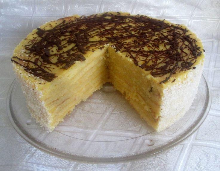 CHILE: Torta Panqueque Naranja Paso a Paso.  Receta usa 8-10 naranjas grandes