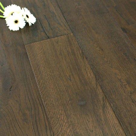 190mm Brushed & UV Oiled Engineered Weathered Antique Oak Click 2.89m²