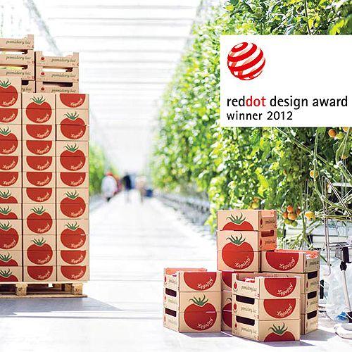 Łęgajny Tomato Farm's Award Winning Packaging designed by Monika Ostaszewska-Olszewska, Zofia Konarska and Katarzyna Minasowicz