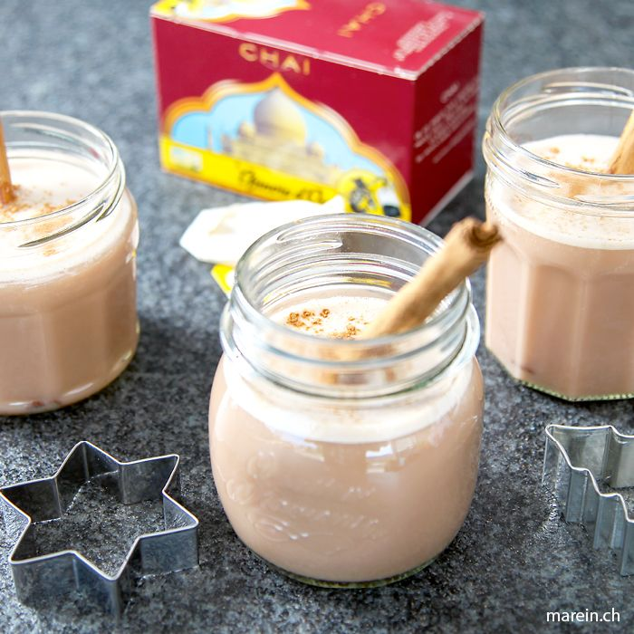 Iced Chai Tea // Wir lieben Iced Chai Tea! Hier findest du das Rezept, wie du deinen eigenen fantastischen Chai zubereitest: http://www.marein.ch/basteln/6884/iced-chai-tea/