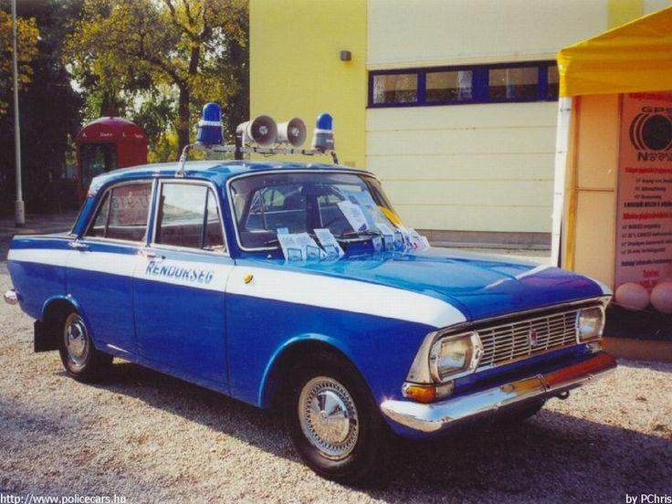 Moszkvics 412 police car