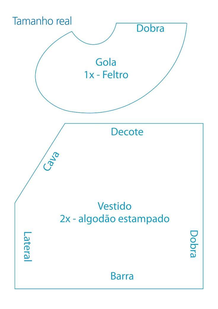 Aparador Madera Acacia ~ Artesanato Molde Boneca De Pano