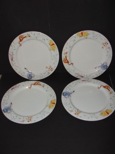 Winnie The Pooh Tigger Eeyore Piglet Disney Direct Dinnerware Plates Set of 4 | eBay & 36 best PIGLET DISH images on Pinterest | Dish Piglets and Plate