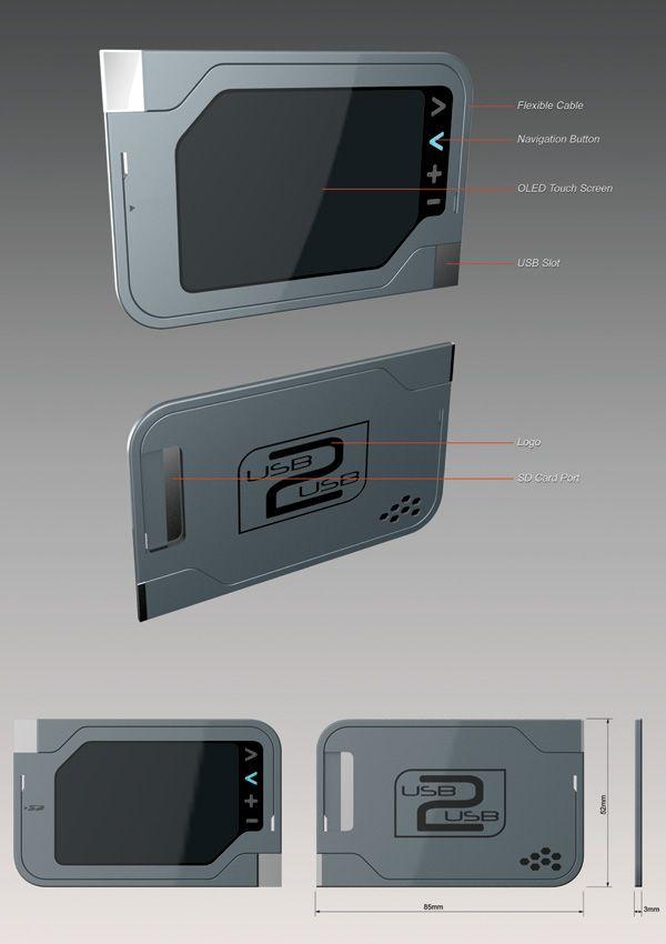 usb2usb (device concept) - Transfer data from one USB or SDE card to another | Designers: Saharudin Busri, Mohd Nizam Najmuddin, Mohd Rohaizam Mohd Tahar, Nuzairi Yasin & Nazjimee Amat Omar