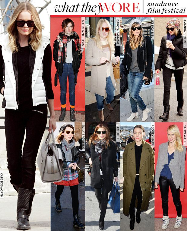 FInd out what celebrities wore to the 2013 Sundance Film Festival!